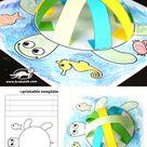 Zelf maken met papier: SCHILDPAD - Freubelweb