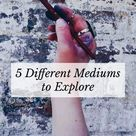 5 Different Mediums to Explore: by Free People on @stellerstories