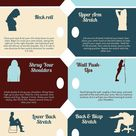 Stretches To Do At Your Desk on Monday Morning- Infographic