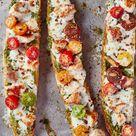 Recipe: French Bread Pesto Chicken Pizza