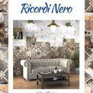 Ricordi Nero 20x20 cm