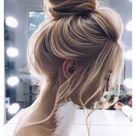 prom hair blonde