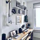 Interesting home studio