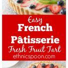 French Patisserie Fruit Tart