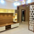 Mrs.alifiya's residence, mahaveer reviera, j.p.nagar, bangalore design space living roomtv stands & cabinets plywood multicolored | homify