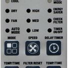 12,000 BTU Window Air Conditioner, Electronic Controls