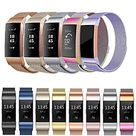 Smart Watch Band for Fitbit 1 pcs Sport Band Milanese Loop Stainless Steel Replacement  Wrist Strap for Fitbit Charge 3 L S Lightinthebox - 74144