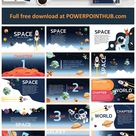 Space PowerPoint Template - Powerpoint Hub