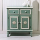 Cape Craftsman Antique Blue Cabinet