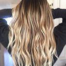 glossing hair