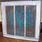 Window Pane Crafts