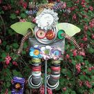 Recycled Garden Art