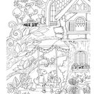 Nice Little Town 5 Adult Coloring Book Coloring pages PDF | Etsy