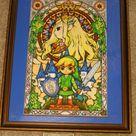 Legend of Zelda The Wind Waker Stained Glass by Wacker00 on DeviantArt