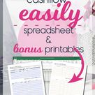 Personal Finance / Cash Tracker / Excel Spreadsheet / Dave   Etsy