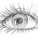 Augen zeichnen für Anfänger | DekoKing - DIY Bastelideen