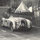 24h Le Mans 1937 Overall Winner 5.0. 🇫🇷 Bugatti Type 57G Tank   🇫🇷 Roger Labric. 🇫🇷 R. Benoist 🇫🇷 J P. Wimille