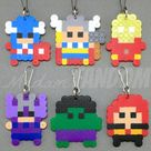 Super Mario Party Favors Zipper Pulls  End of School Year | Etsy