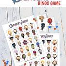 The coolest Avengers Bingo Game! - onecreativemommy.com