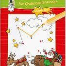 Malen und Rätseln für Kindergartenkinder. Weihnachten. Suchen, Zählen, Zuordnen, Verbinden für Kinder ab 3 Jahren