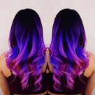 Try the Rainbow Hair Trend for the Weekend