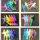 Pop Art Movement Lesson for middle school kids - Leah Newton Art