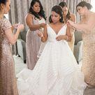 Modern Glamorous Wedding with Fabulous Black and White Details