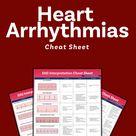 EKG Interpretation Cheat Sheet (Free Download)