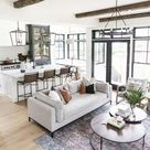 Arranging an open concept kitchen and living space | Bartle & Gibson Showrooms