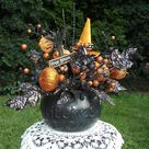 Halloween Floral Arrangements