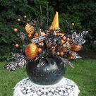 Halloween Floral Arrangements