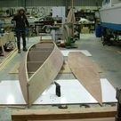 15 1/2 ft Rowboat   easy, pretty, plywood Rowboat Plan