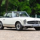 Ex Britt Ekland car bought by Peter Sellers is set to cross the block at The London Classic Car Show