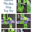 How to Make a Square Knot Dog Tug Toy — Create Laugh Grow