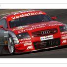 10 inch Photo. Martin Tomczyk GER, S line Audi Junior Team,