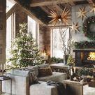 Christmas Decoration Wood Pendant Light, Minimalistic Interior Style Chandelier, Mid-Century Lamp