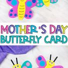 Butterfly Card Craft For Kids