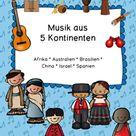 Musikinstrumente und Lieder aus aller Welt
