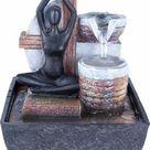Zimmerbrunnen, Material Polyresin