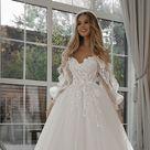Sample Sale/ Mary/ Lace Bohemian Wedding Dress/ Cotton Lace with Open Back Boho Romantic Rustic Wedding Dress/ Thin Spaghetti straps.