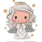 Cute Cartoon Weihnachtsgel einzeln auf weißem Stock Vektorgrafik Lizenzfrei 1557681569