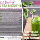 FREE Weight Loss Recipe Card - Green Thickies: Filling Green Smoothie Recipes