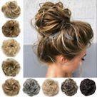 X LARGE Messy Bun Hair Piece Scrunchie Updo Wrap Hair Extension as Human Bun US