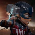 Iron Studios - Marvel Avengers: Endgame - Captain America 5.5