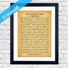 Velveteen Rabbit Quote - Framed Nursery Gift - Nursery Room Framed Art - Ready Framed Inspiring Gift