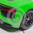 Switzerland; Geneva; March 8, 2018; Audi R8 Spyder V10 Plus, Rear Right Side; The 88th International Motor Show In Geneva From Editorial Image   Image of plastic, industrial 128707995