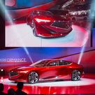 acura highlights razor edged forms with precision concept at NAIAS 2016