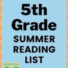 Good Books for 5th Grade Summer Reading