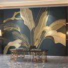 Benutzerdefinierte Foto Wandpapier 3D geprägt Retro Banane Blatt große Wandbild Wohnzimmer Schlafzimmer Luxus Tapete Home Decor Wandmalerei