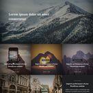 Travel Stories - WordPress Theme. Script Fonts